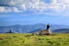Dereszowaty góry TN zaciszności czas zdjęcie stock