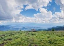 Dereszowaty Halny Sceniczny tło widok Tennessee Zdjęcie Royalty Free