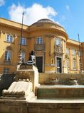 Deri museum royaltyfria foton