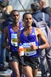 Deribe Robi - Prague marathon 2015 Stock Photos