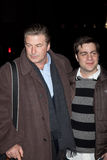 Derick Martini and Alec Baldwin (L) Stock Photos