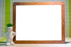 Derida su, sul fondo di legno degli indicatori e sul fondo per l'inserzione Immagini Stock