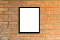 Derida sulla struttura del manifesto e pantaloni a vita bassa o annata del muro di mattoni Immagini Stock