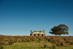 Derilect House, Keiss,  Northern Scotland Stock Image