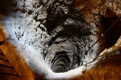 Derinkuyu ondergrondse stad Stock Afbeelding