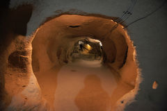 Underground City, Travel to Cappadocia, Turkey Stock Photos