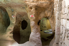 Derinkuyu underground city, Cappadocia Royalty Free Stock Photos