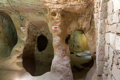 Derinkuyu underground city, Cappadocia Royalty Free Stock Photos