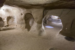Derinkuyu underground city Stock Photography
