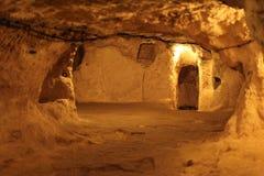 Derinkuyu Underground city, Cappadocia Royalty Free Stock Images