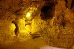 Derinkuyu underground city Stock Images