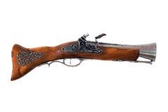 Derisione di vecchia pistola del pirata fotografie stock