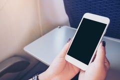 Derisione su dello Smart Phone Immagini Stock