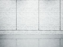Derisione su di struttura della parete di mattoni 3d rendono Immagini Stock