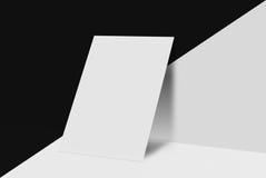 Derisione sulla cartolina e sulla copertura Immagini Stock