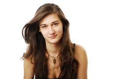 derisive молодость женщины взгляда Стоковые Изображения RF