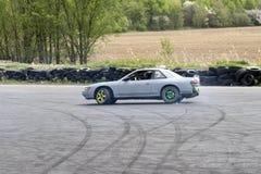Derivação do carro Foto de Stock Royalty Free