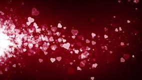 Deriva del rojo de los corazones