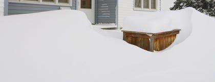 Deriva della neve Immagine Stock Libera da Diritti