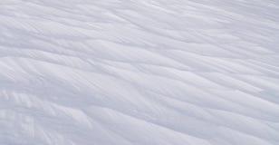 Deriva della neve Immagini Stock