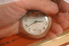 Deriva detrás a tiempo Imagen de archivo
