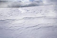 Derivas de la nieve Imágenes de archivo libres de regalías