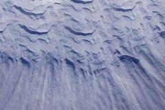 Derivas de la nieve Fotografía de archivo libre de regalías