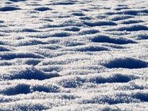 Derivas de los cristales de la nieve Fotografía de archivo