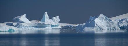 Derivas del hielo Foto de archivo libre de regalías