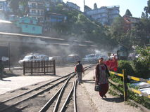 derjeeling Station Lizenzfreie Stockfotografie