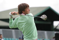 Derksen, Open de France 2007, golf National Stock Photography