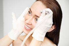 Dermabrasion Royalty Free Stock Images