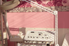 Dermatology clinic equipment. Multifunction beauty machine. Advancing innovation in dermatology Stock Photo