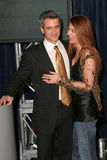 Dermot Mulroney,Debra Messing Stock Image