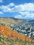 Dernau, Ahr dolina, Palatinate, Niemcy Fotografia Stock
