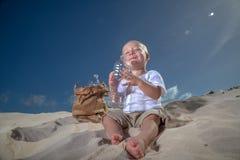 Dernière petite gorgée de l'eau Photographie stock libre de droits