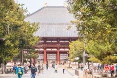 Dernière porte au temple de ji de Todai photos libres de droits