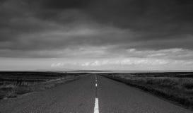 Dernière route Photos libres de droits