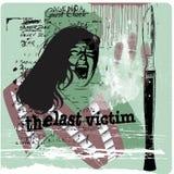 dernière victime illustration de vecteur