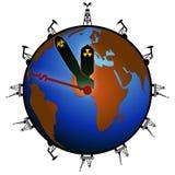 Dernier appel pour la planète avant délai Photos libres de droits