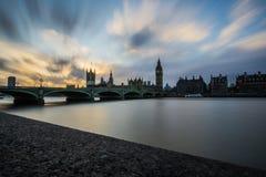 Dernier coucher du soleil images libres de droits