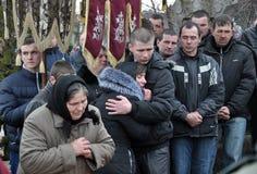 Dernier _45 de Ruslan Kotsyuk de route Image libre de droits