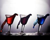 Derramamento da bebida imagem de stock royalty free