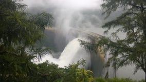 Derramamento da represa Foto de Stock Royalty Free