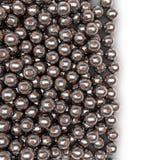 Derramamento das bolas de futebol do metal Fotografia de Stock Royalty Free