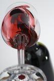 Derramamento do vinho Fotos de Stock