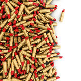 Derramamiento del lápiz labial Foto de archivo libre de regalías