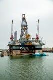 Derrame de petróleo Fotos de archivo libres de regalías