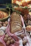 Derrate alimentari del forno. Fotografia Stock