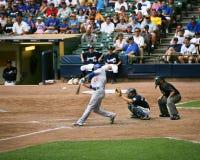 Derrek Lee batting Stock Photo